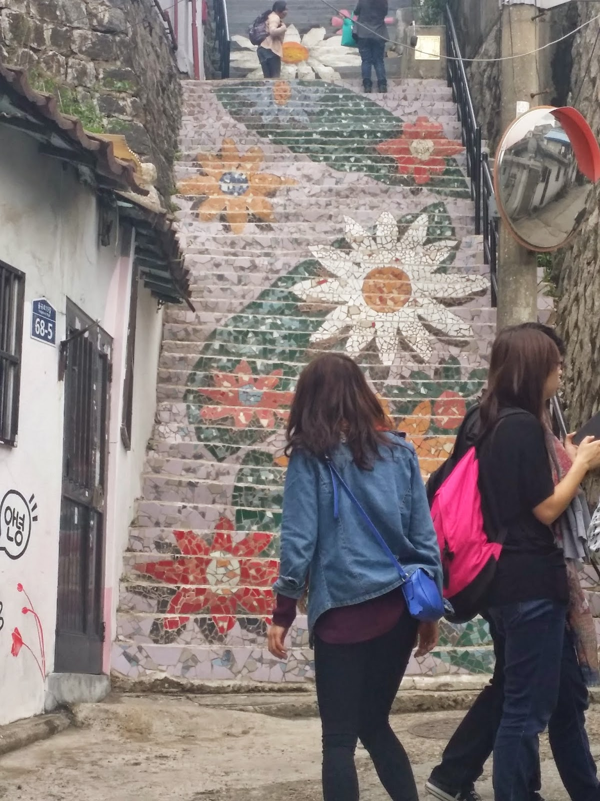 How to go to mural village in ihwa dong think of seoul for Mural village
