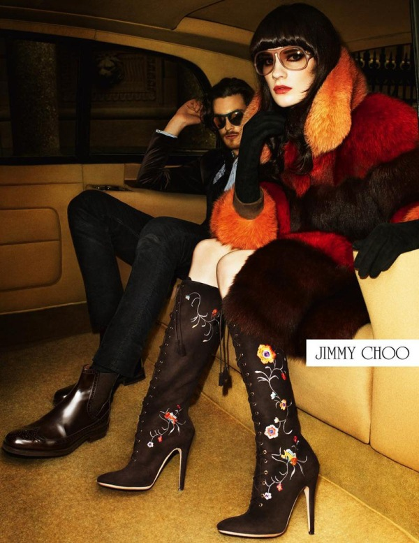 Jonas Kesseler & Querelle Jansen for Jimmy Choo Fall/Winter 2012-2013 Campaign.