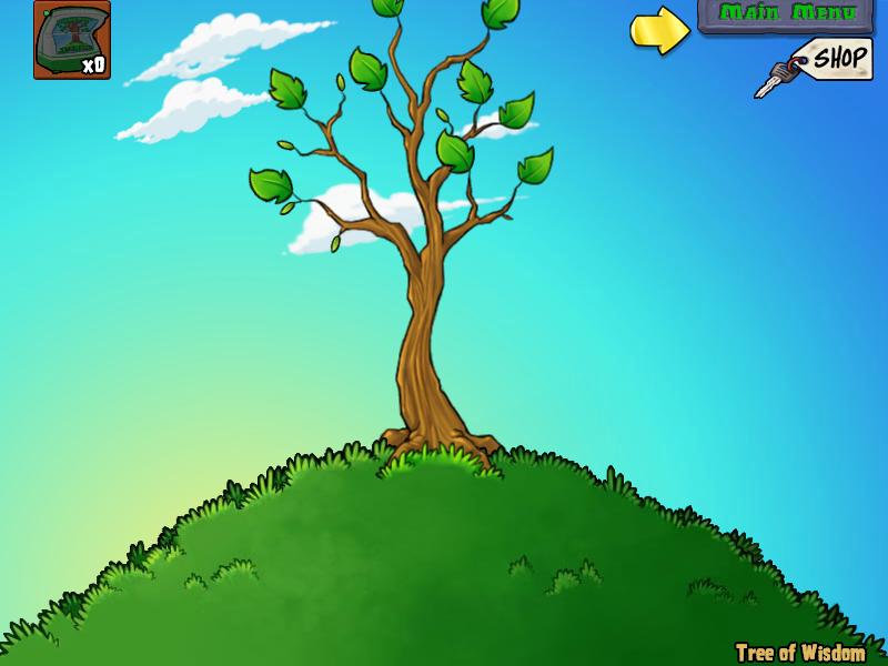 mini jardim aquatico:árvore da sabedoria jardim noturno jardim aquático mini games puzzle
