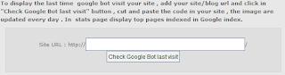 Cara Mengetahui Google Terakhir Kali Mengunjungi Blog Kita