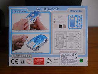kit de coche con motor de agua