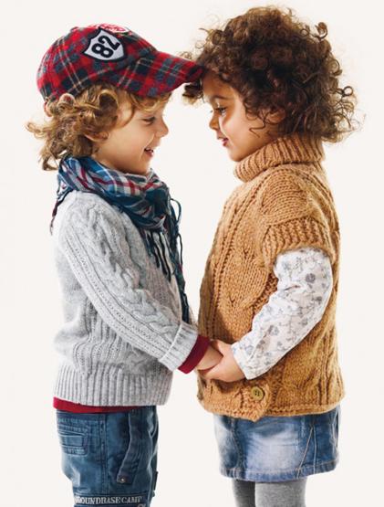 jerseys de punto para niños