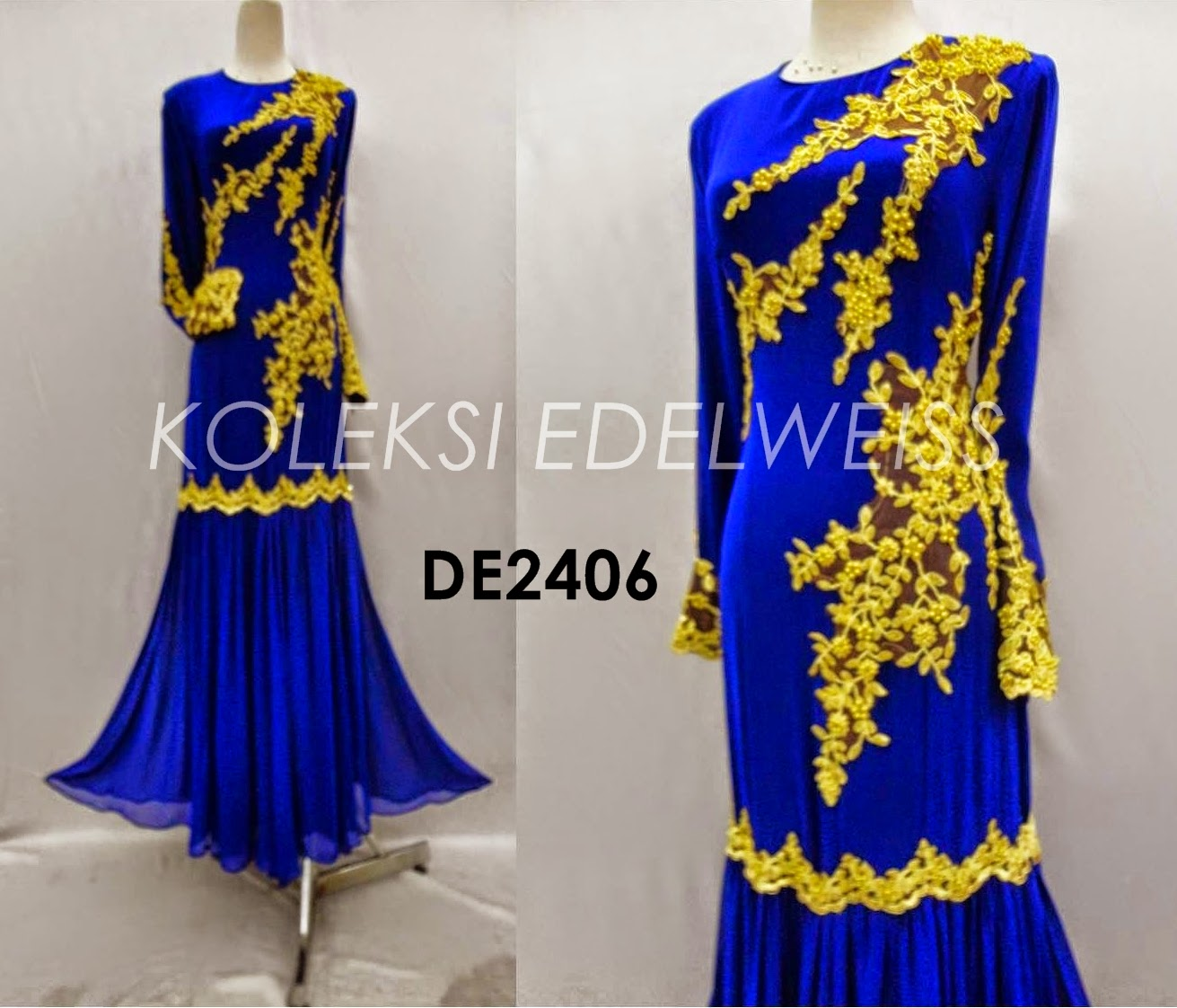Eksklusif Dress Tunang dan Nikah Dress Nisha
