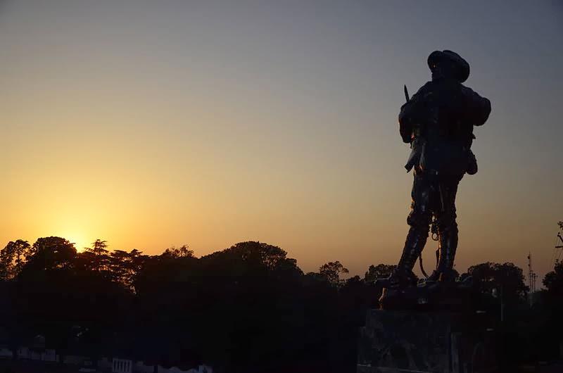 Garhwali Soldier War Memorial Lansdowne_DevBhumiUttaranchal
