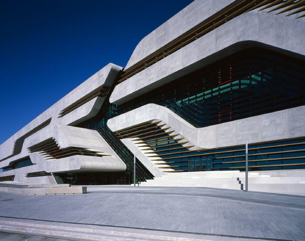 Architectureweek people and places zaha hadid architects for Architecture contemporaine
