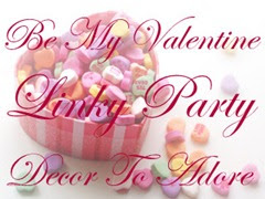 Be My Valentine Linky Party