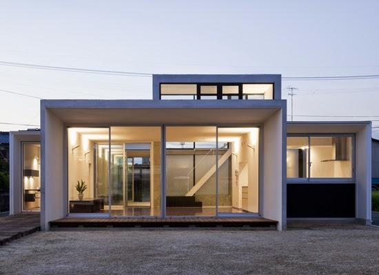 Arquitectura arquidea casa minimalista por kazuyuki - Casas minimalistas por dentro ...