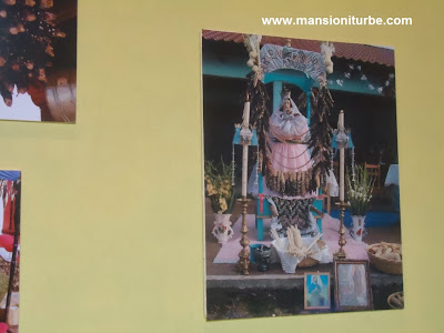 Imagen de la Virgen de la Candelaria durante las Festividades del 2 de Febrero