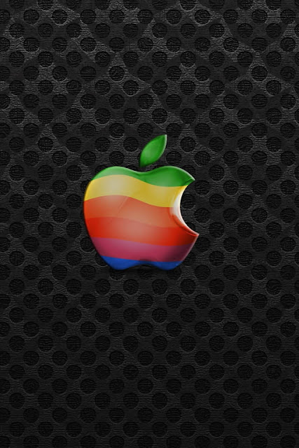 Apple Wide Screen iPhone Wallpaper By TipTechNews.com