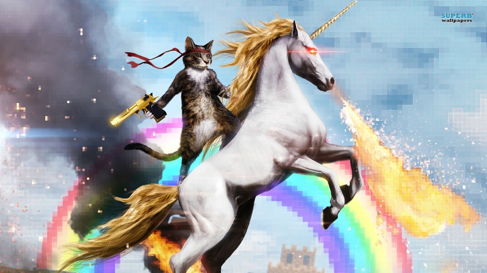 Unicorn Sonnet without guns  cats  laser eyes  or rainbowsUnicorns With Lasers