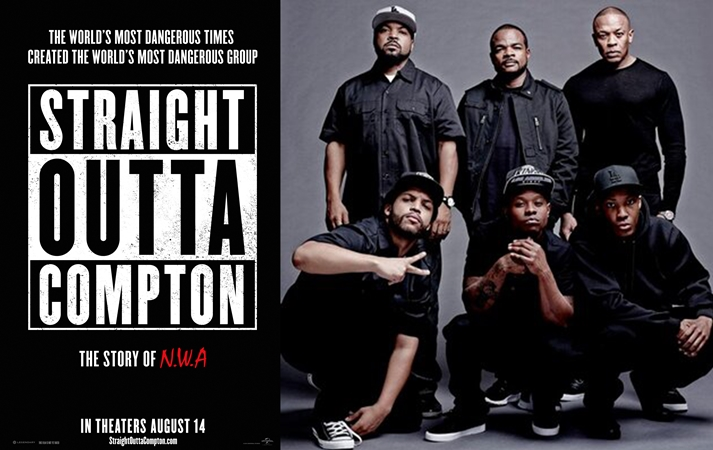 Póster: Straight Outta Compton