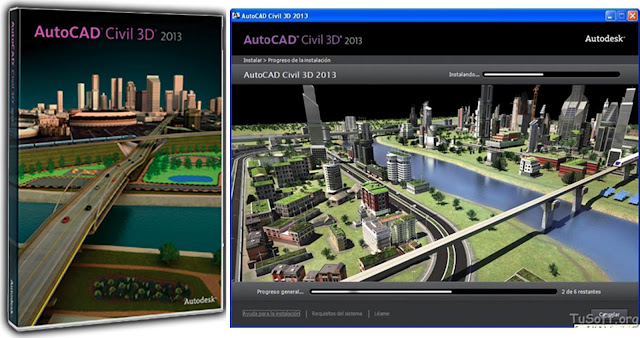 Descargar AutoCAD Civil 3D 2013, Ingles, 64 bits, Full + Keygen