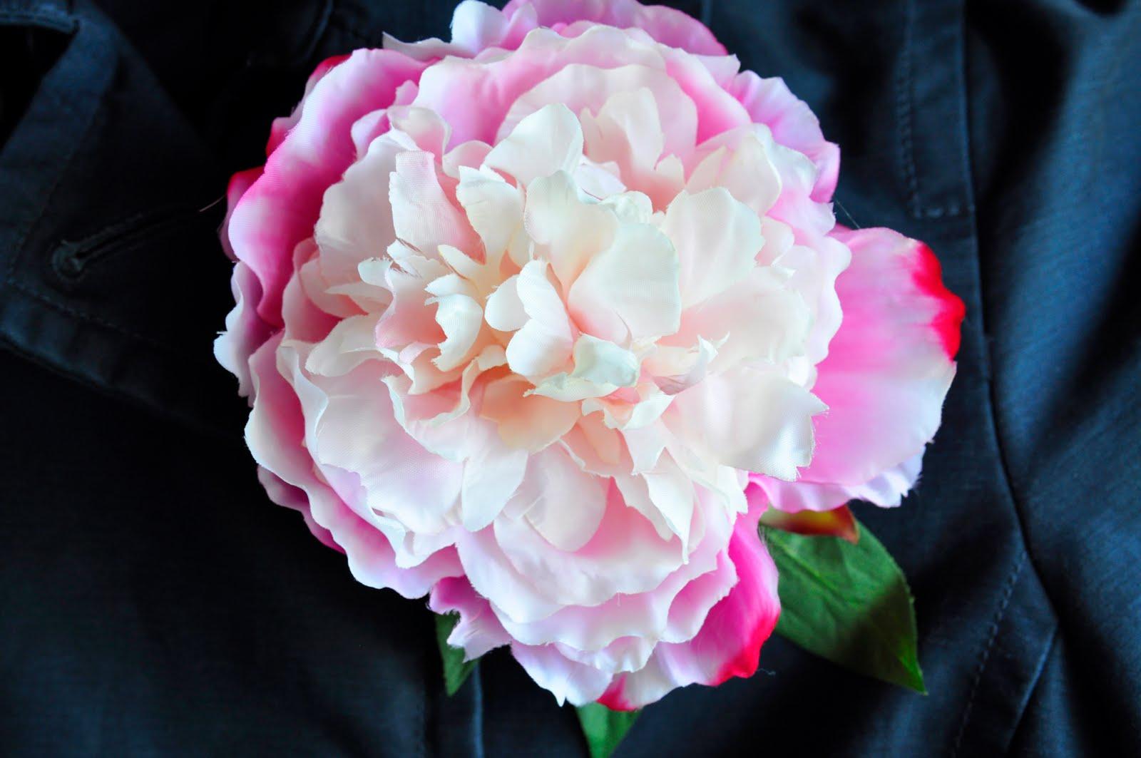 Dual Perspicacity Easy Silk Flower Brooch Tutorial