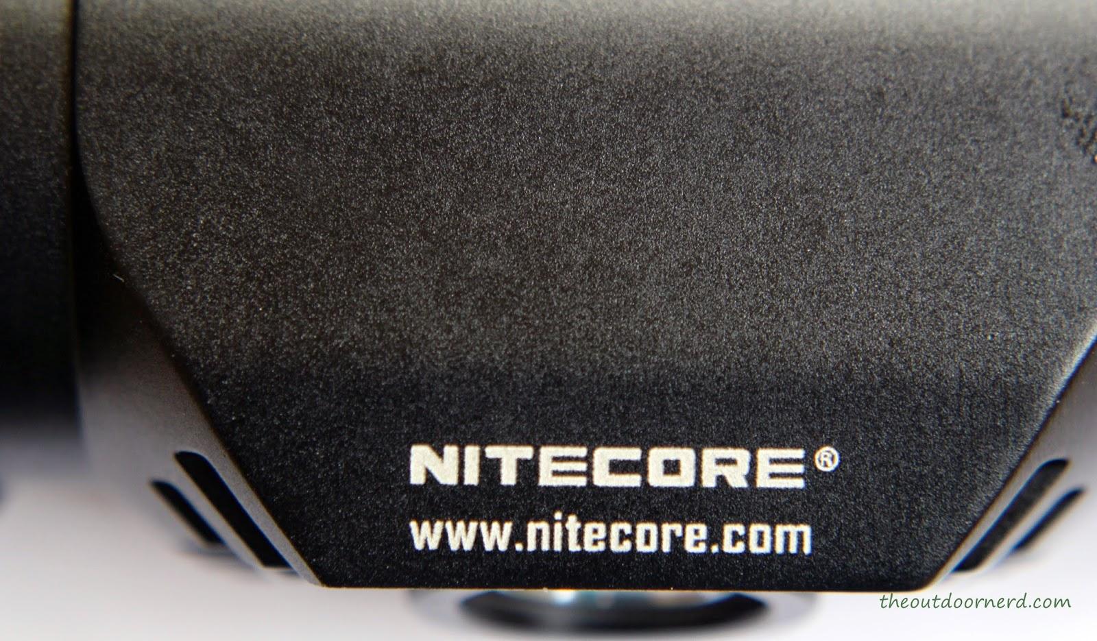 Nitecore HC50 Headlamp Logo Closeup 2