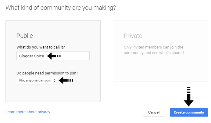public community