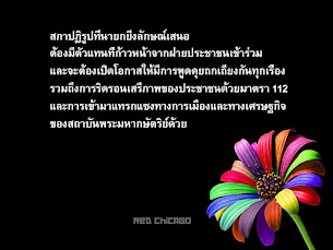 สภาปฏิรูปที่นายกยิ่งลักษณ์เสนอ...
