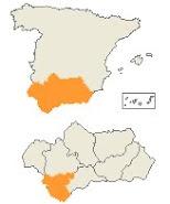 Localización de Cadíz