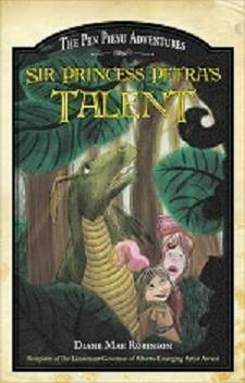 Sir Princess Petra's Talent - The Pen Pieyu Adventures (book 2) by Diane Mae Robinson