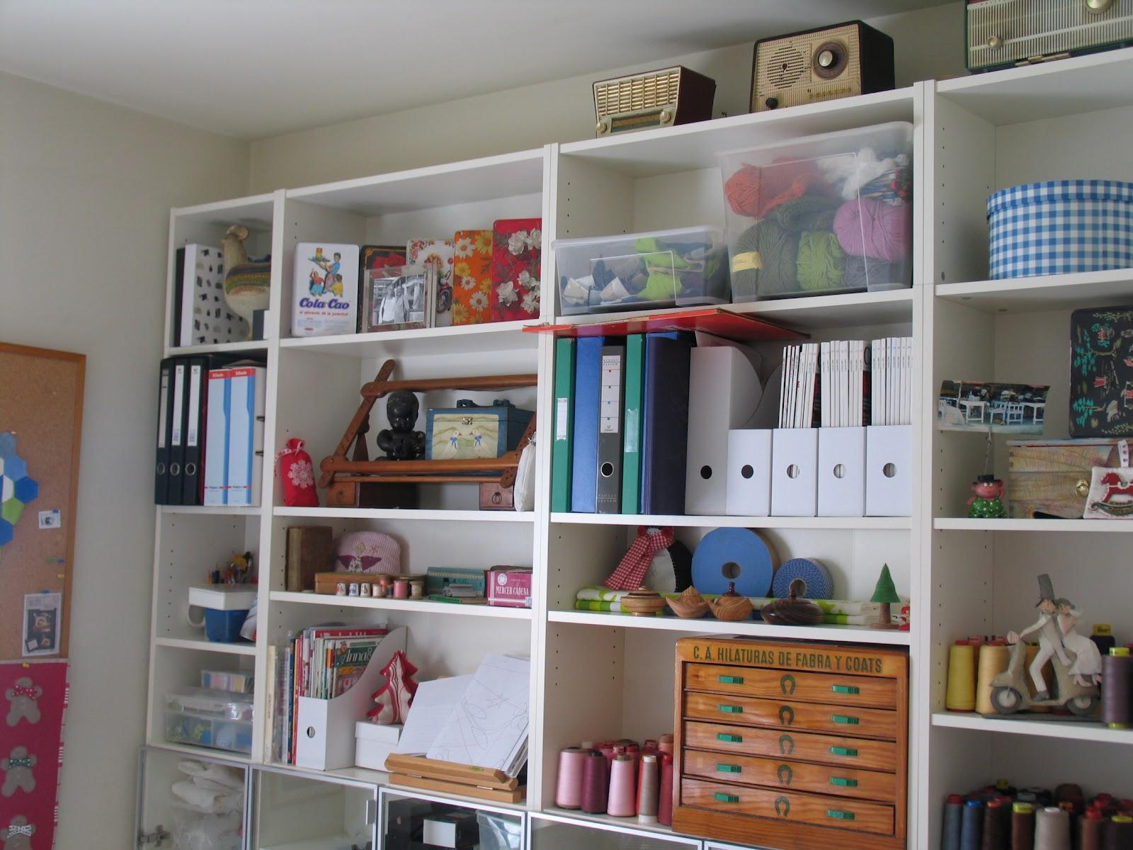El Blog de Liles: Mi cuarto de costura
