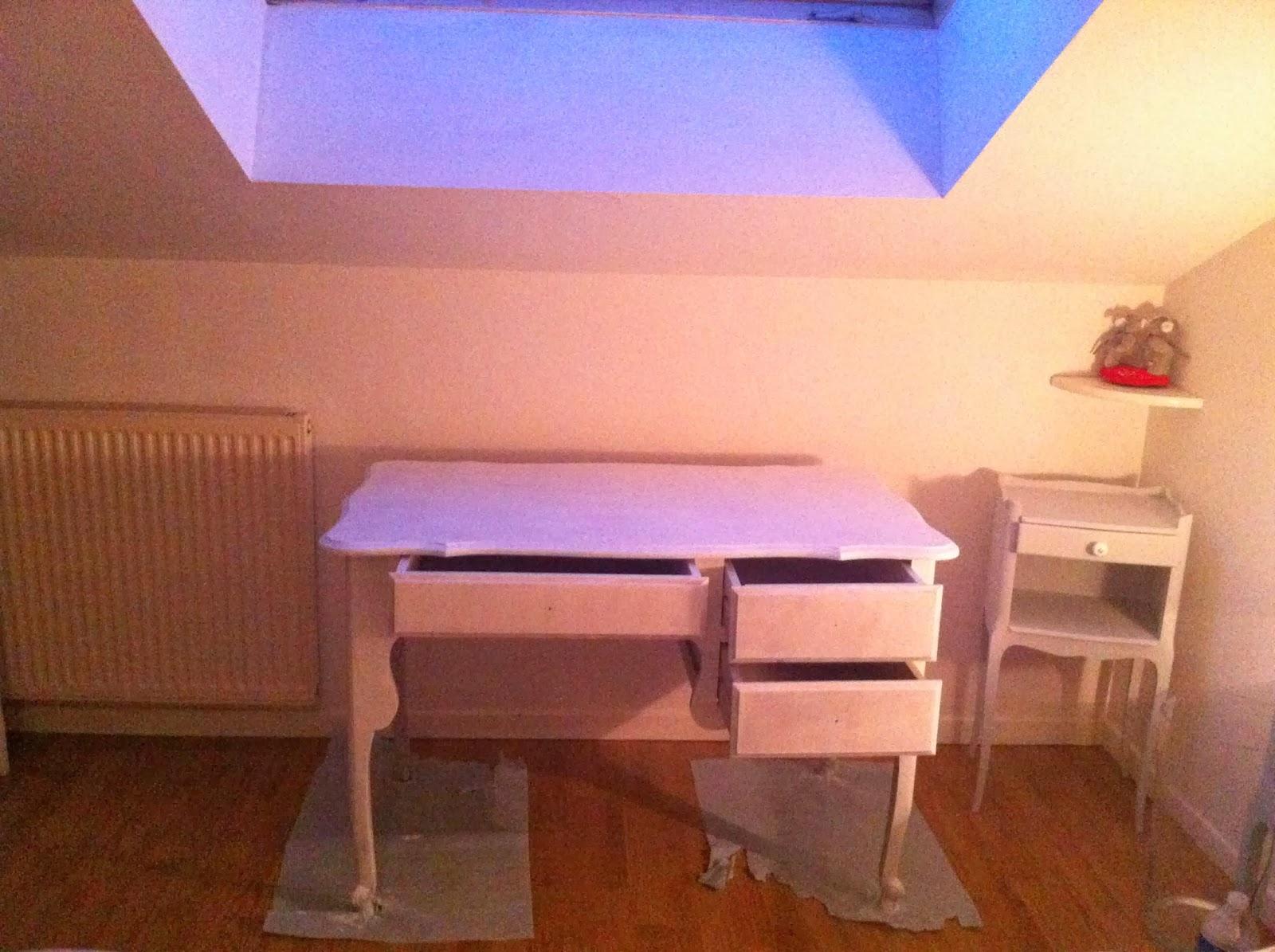Patines et aiguilles le lundi ce sera bureau alors - Sous couche meuble stratifie ...