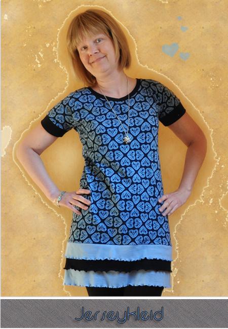 Jerseykleid by Allerlieblichst