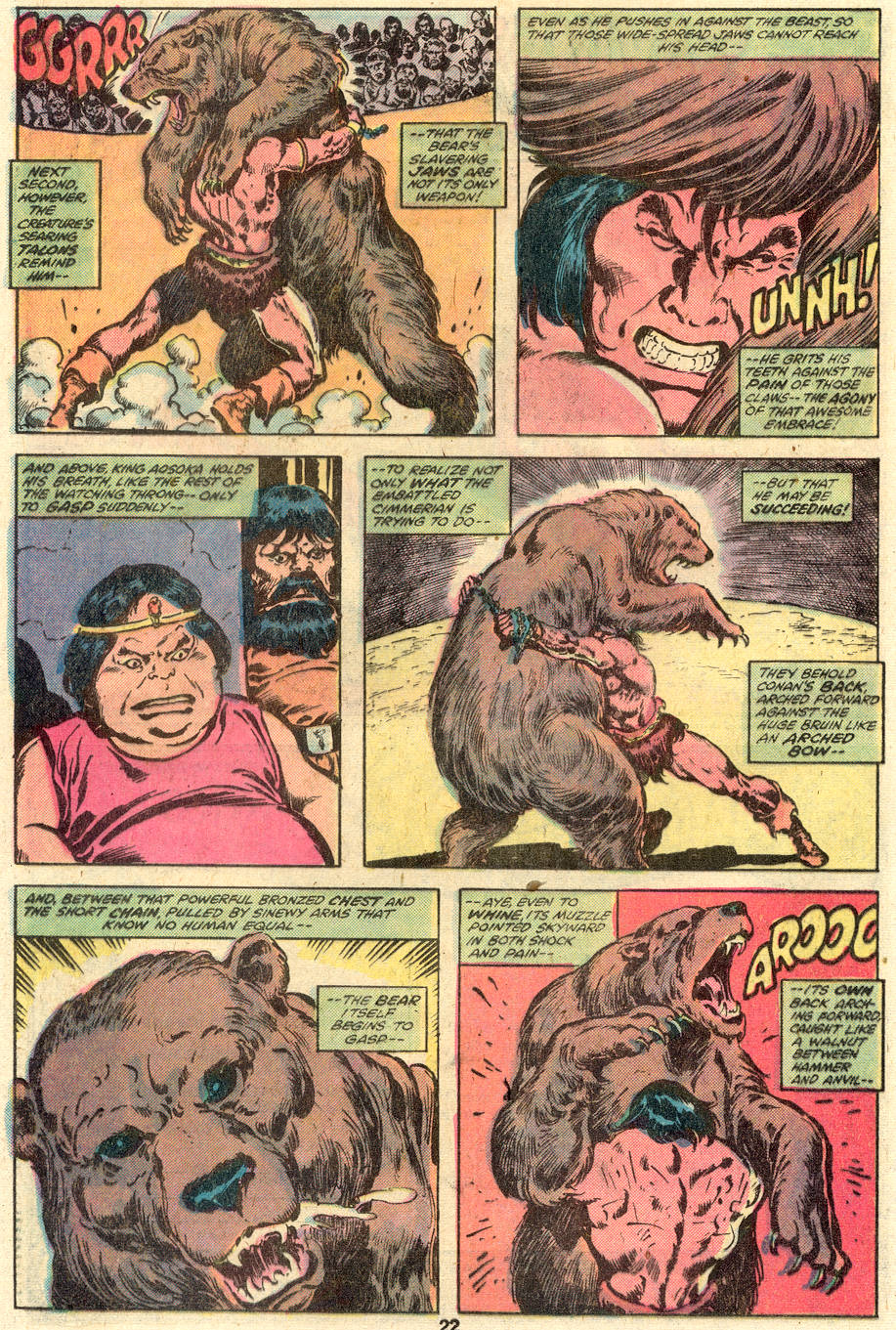 Conan the Barbarian (1970) Issue #110 #122 - English 13