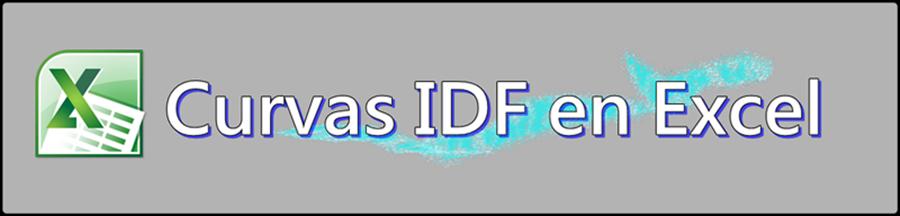 Curvas IDF en Excel