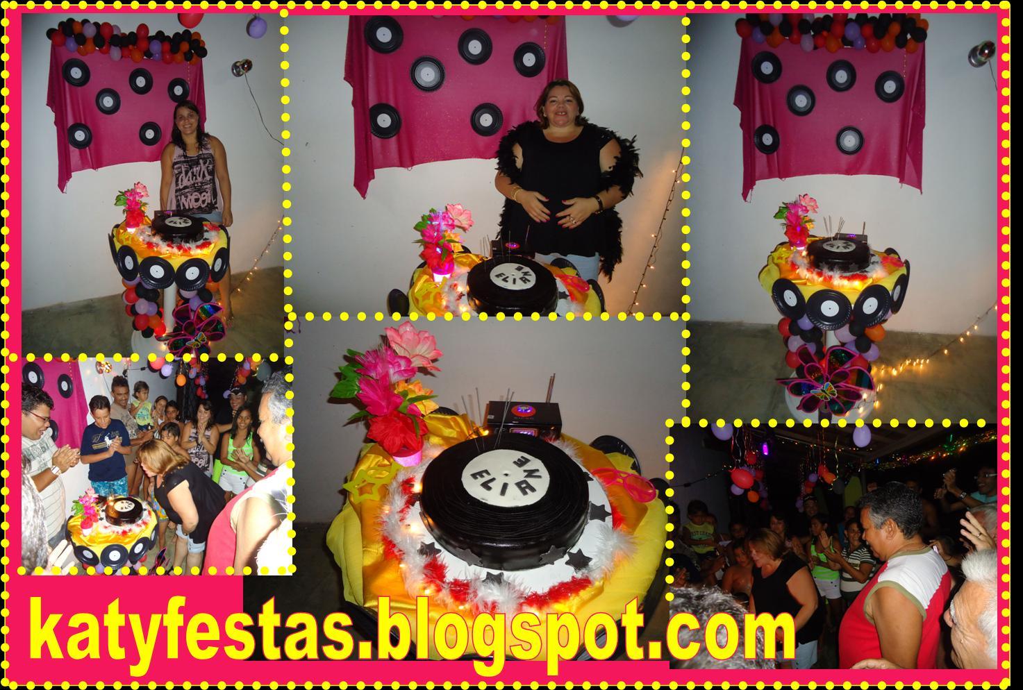 Katy Festas Festa Surpresa  Anos 80