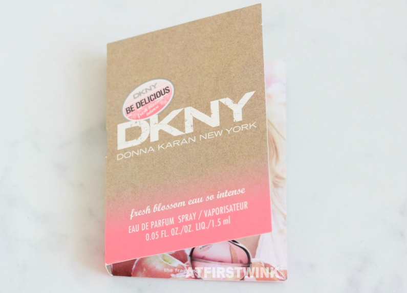 DKNY Be Delicious fresh blossom eau so intense review