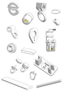 Zubehörteile für Vorhänge und Raffrollos: Raffrollozubehör