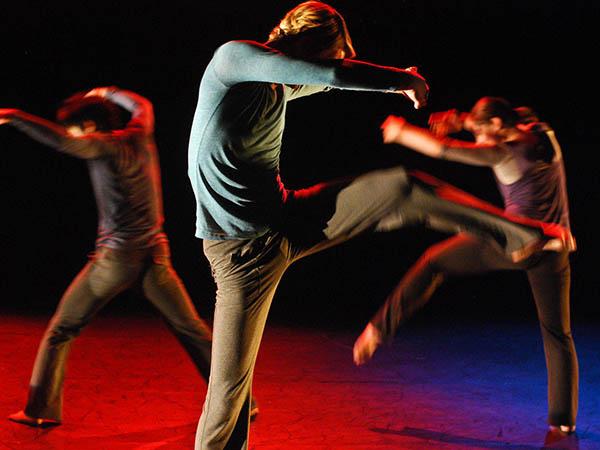 Seleção de grupos de dança