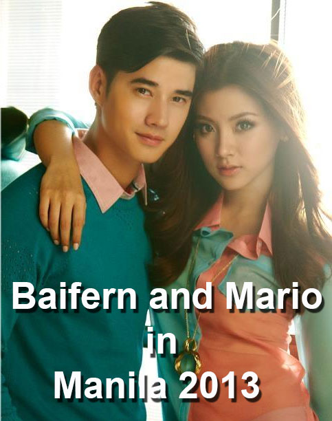 the hit movie Crazy Little Thing Called Love, Mario Maurer and Baifern