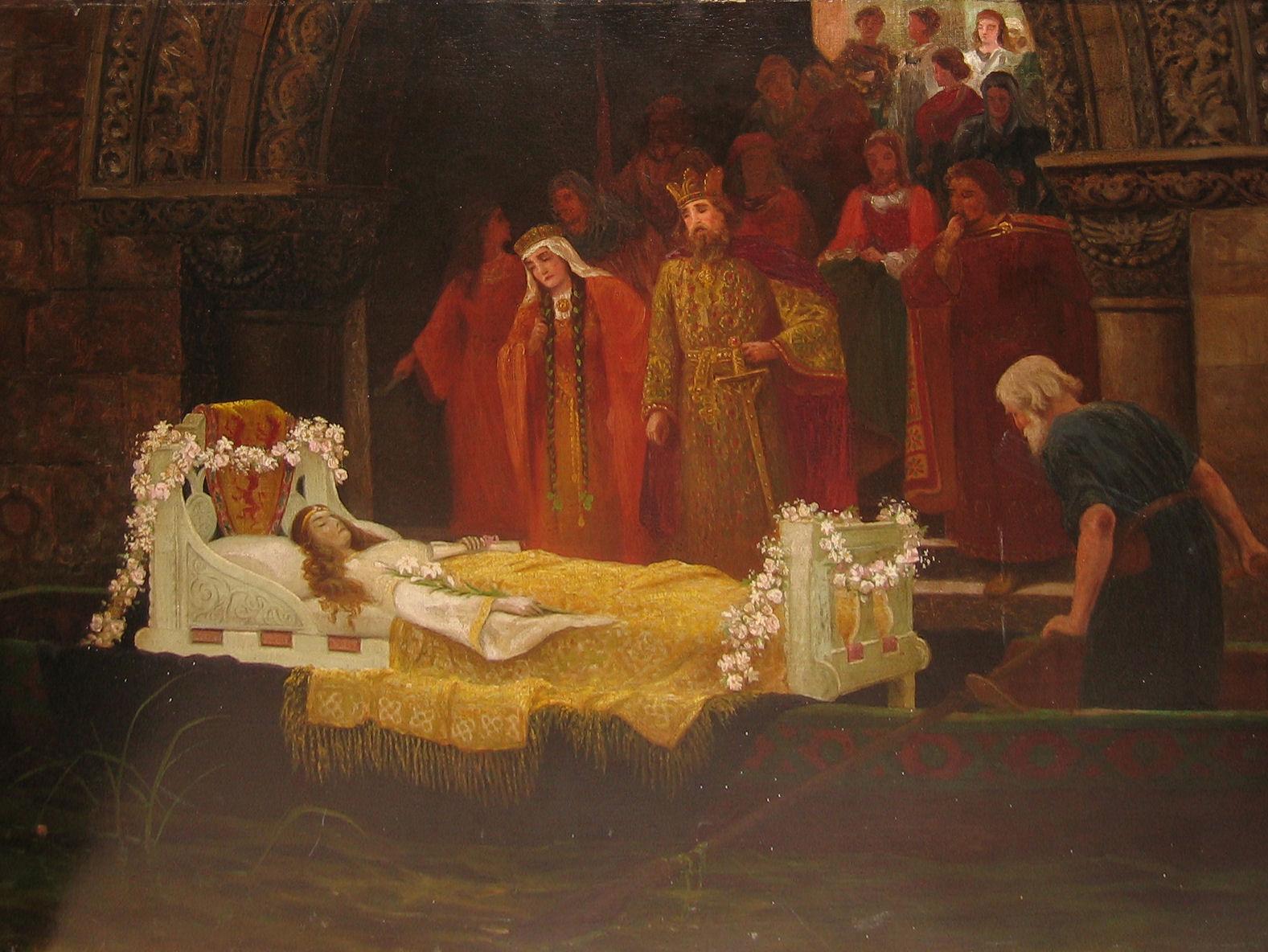 lady shalott painting