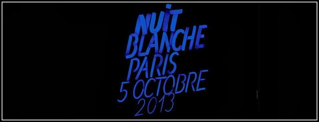 Affiche Nuit Blanche 2013