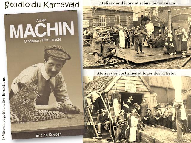 Château du Karreveld - De scènes d'histoire en scènes de tournage - Studio du Karreveld - Premier studio de cinéma belge - Alfred Machin - Bruxelles-Bruxellons