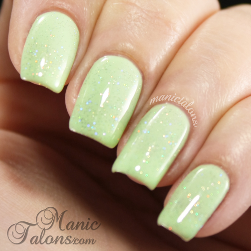 Gelaze by China Glaze Fairy Dust over Re-Freshment