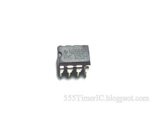 8 Pin 555 Timer IC