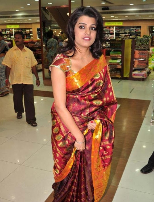 tashu kaushik in saree glamour  images