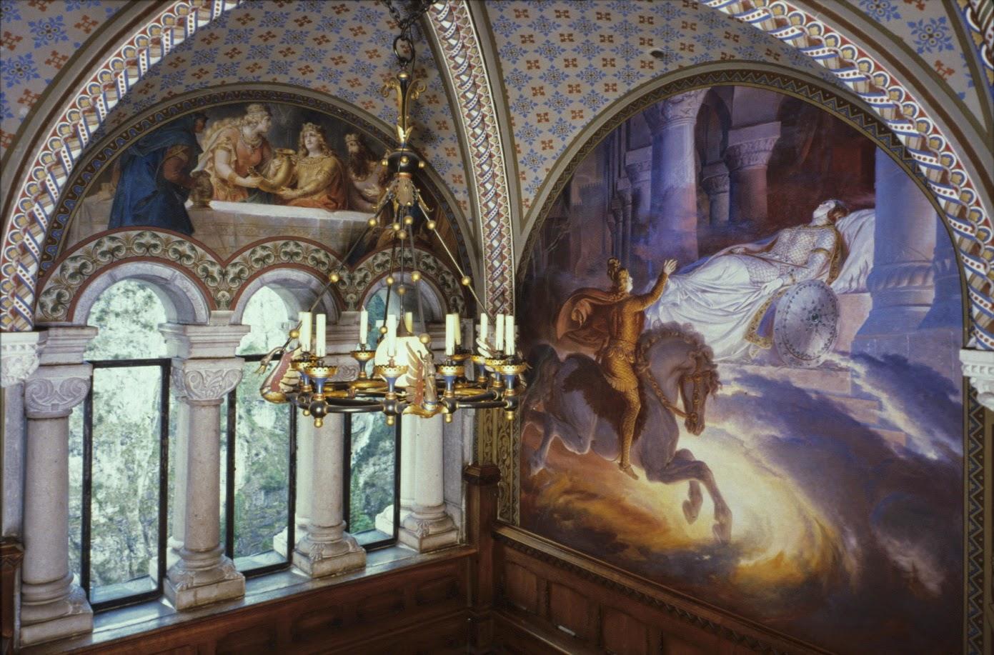 Salón del Canto en el Castillo de Neuschwanstein, Alemania