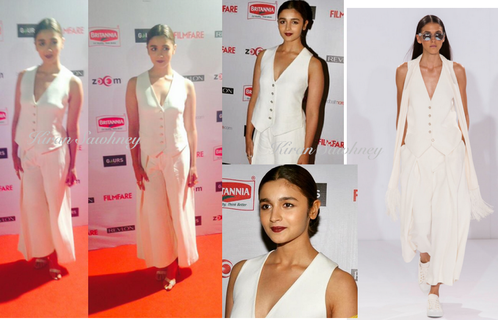 Alia Bhatt at 60th Filmfare nominations bash
