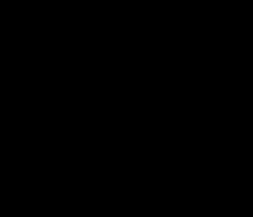 Keratosis in brushed Kanji calligraphy