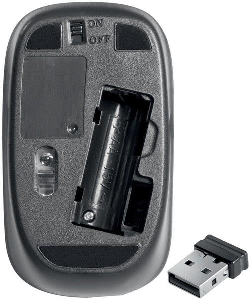 отсек для батарейки у мышки Sorbonne C-835 Nano