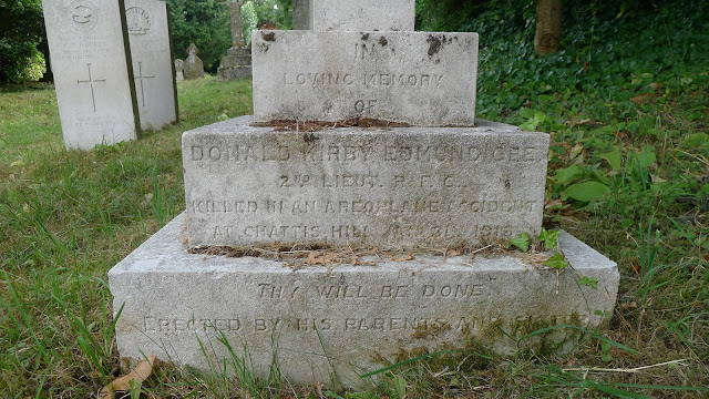 Inscription at the base: he was also killed at nearby Chattis Hill