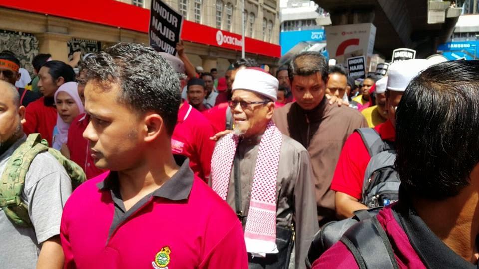Demonstrasi Anti Gst Takkan Demer Hindar Sengaja Hindar Dari