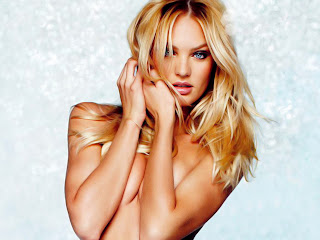 Candice Swanepoel topless and lingerie photoshoot for Victoria's Secret Lingerie Catalogue