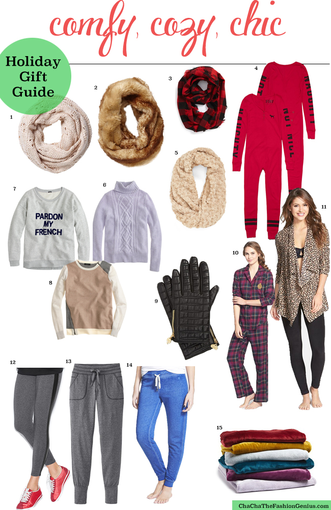 Comfy Cozy Gift Ideas   Holiday Gift Guide