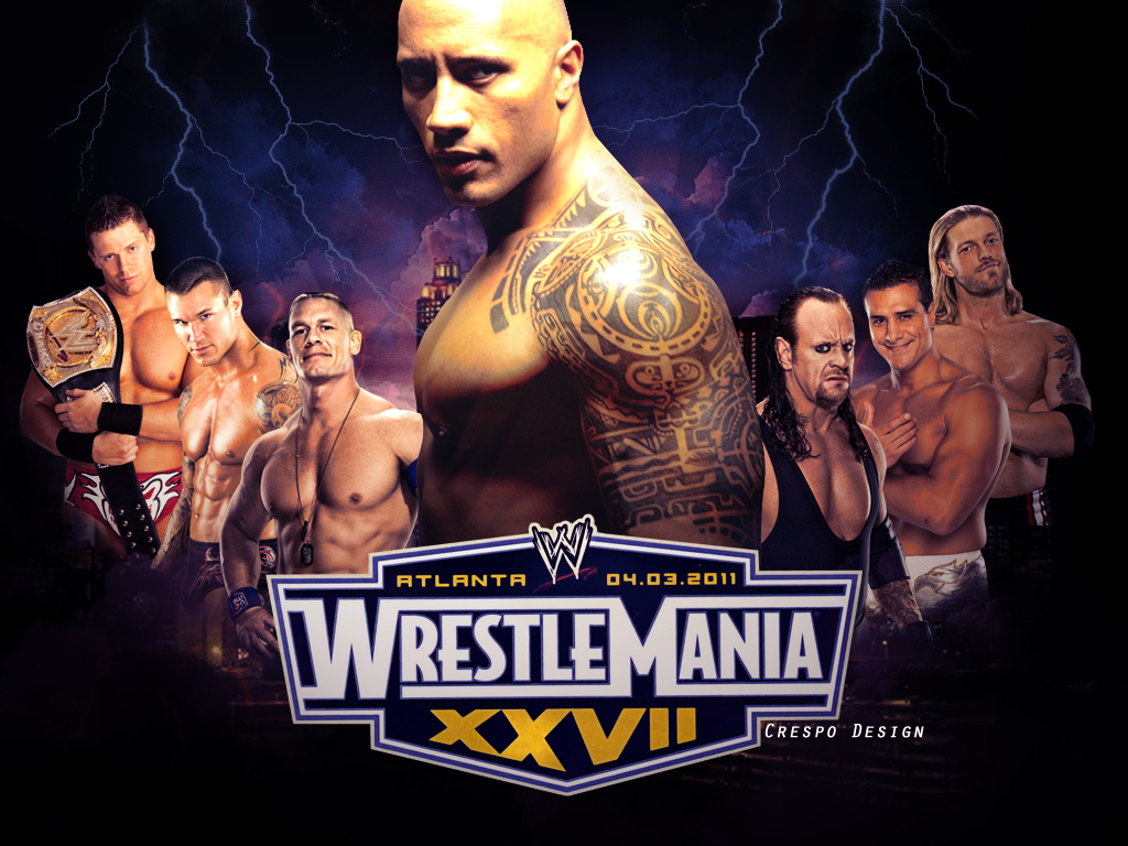 wwe The War!: wwe WRESTLEMANIA 2011 wallpapers