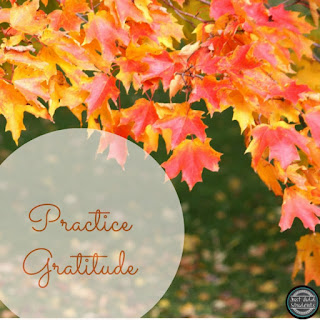 Help your students learn how to practice gratitude.