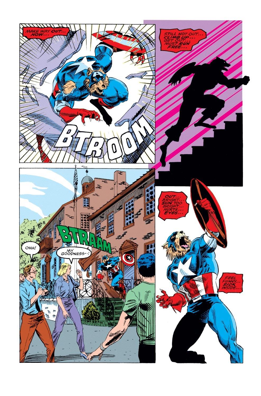 Captain America (1968) Issue #405 #354 - English 5