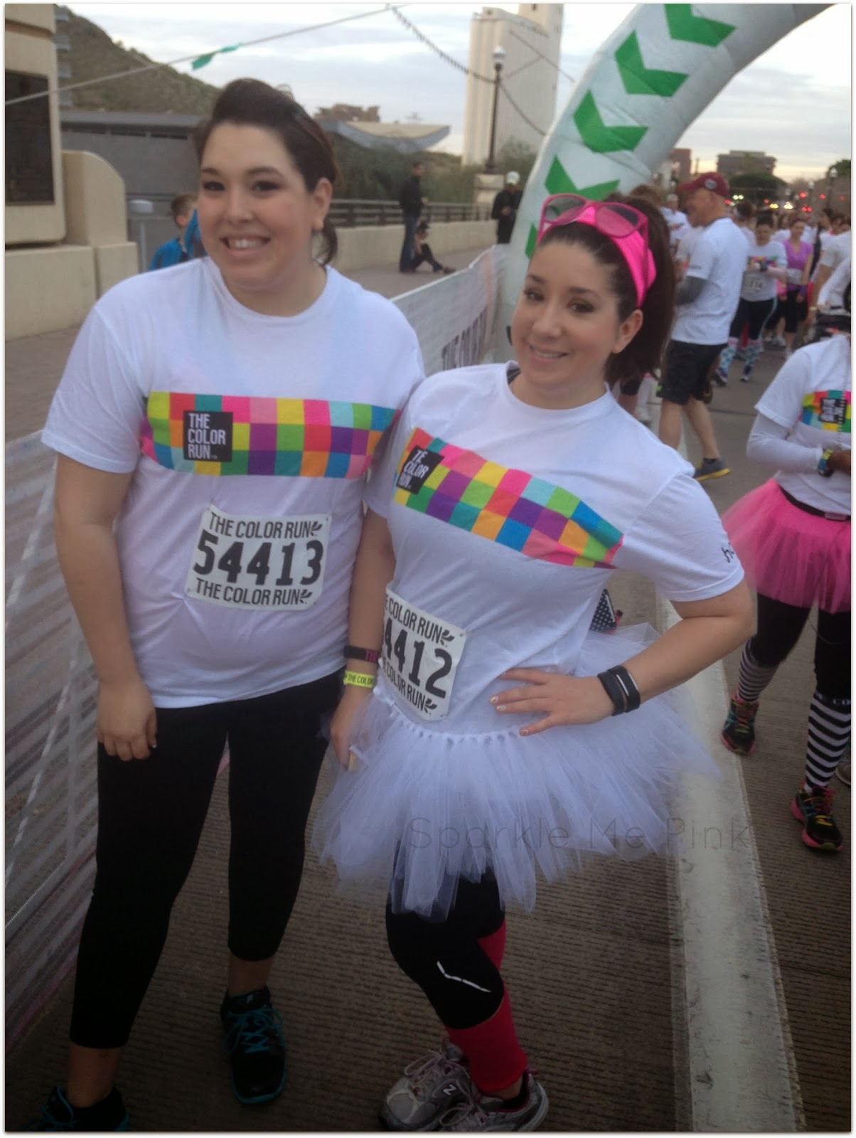 Sparkle Me Pink: The Color Run 2014